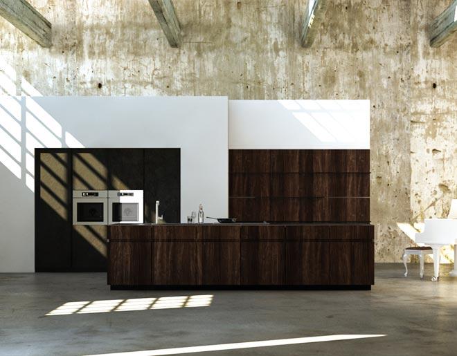 Progetti di cucine good cucina soggiorno open space for Arredamento completo berloni